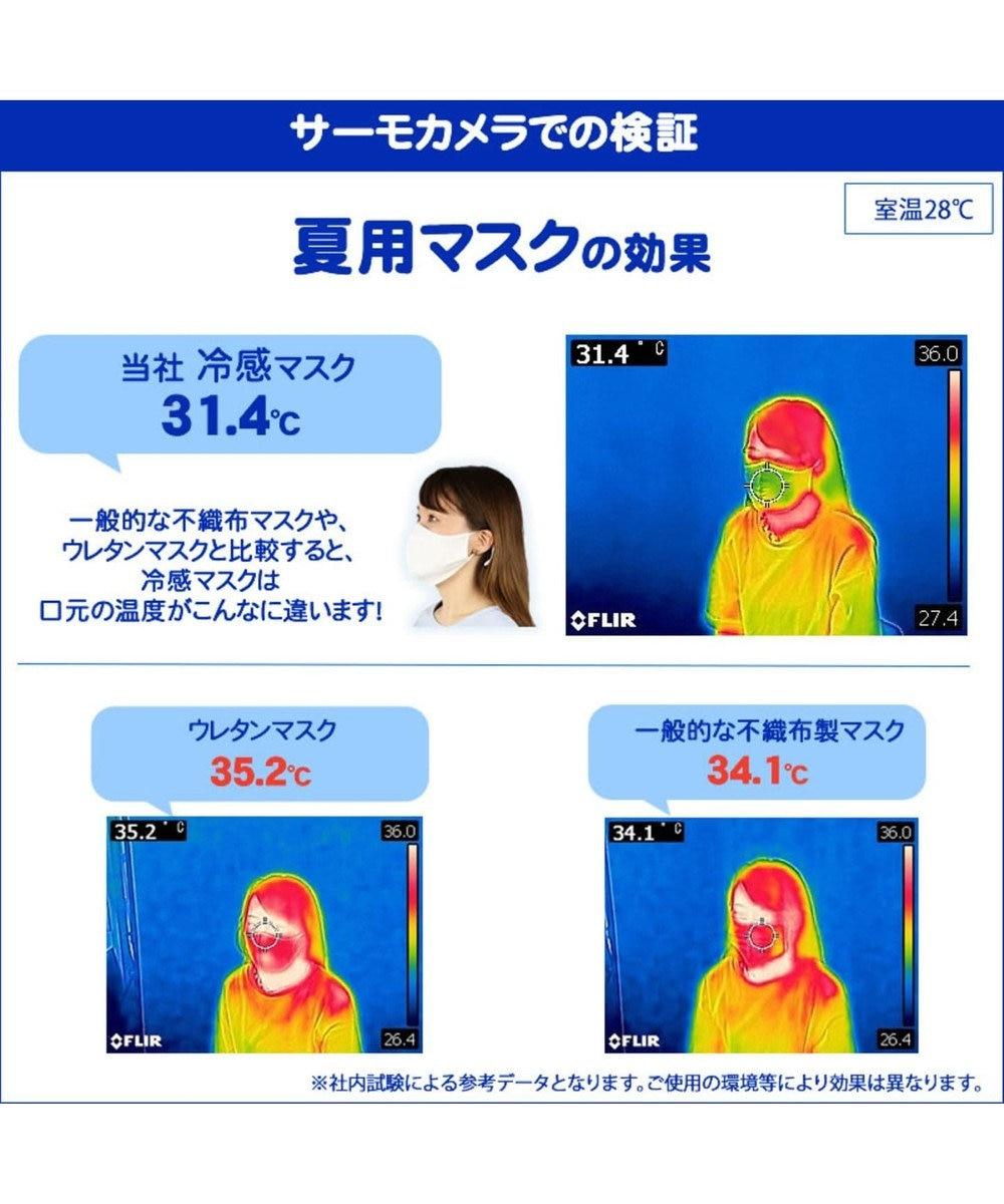 Mother garden ひえサラ 冷感マスク 子供 2枚セット 接触冷感 0