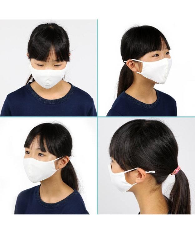 Mother garden ひえサラ 冷感マスク 子供 2枚セット 接触冷感