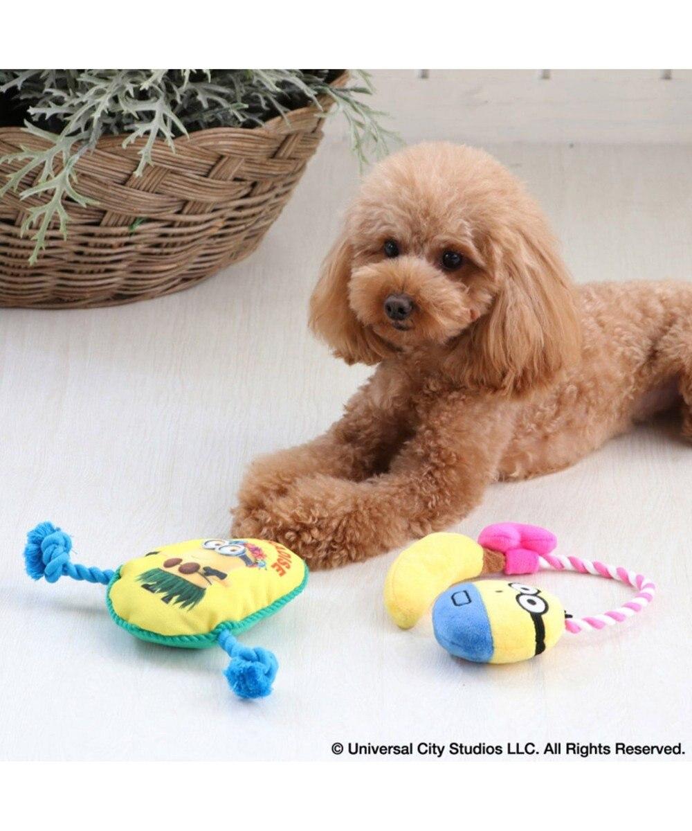 PET PARADISE ミニオン 犬用おもちゃ オットー ロープ トイ 黄