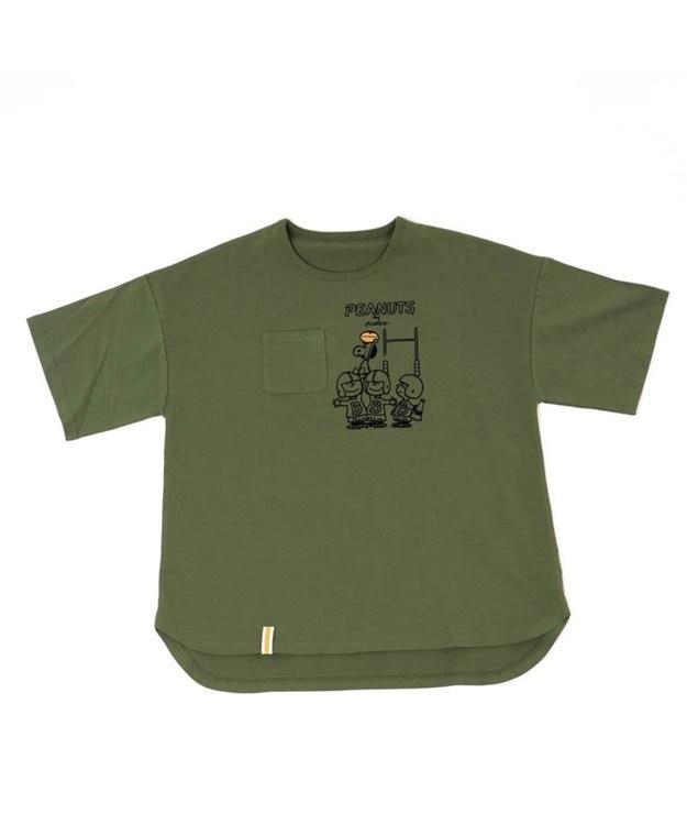 PET PARADISE スヌーピー スポーツ お揃い オーナー用 Tシャツ アメフト S/M/L