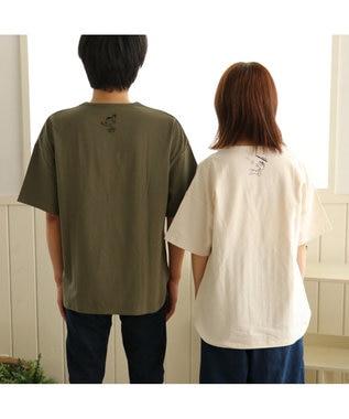 PET PARADISE スヌーピー スポーツ お揃い オーナー用 Tシャツ 野球 S/M/L 白~オフホワイト