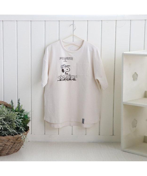 PET PARADISE スヌーピー スポーツ お揃い オーナー用 Tシャツ 野球 S/M/L