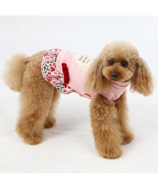 PET PARADISE ディズニー ミニーマウス 花柄トレーナー 〔超小型・小型犬〕 ピンク(淡)