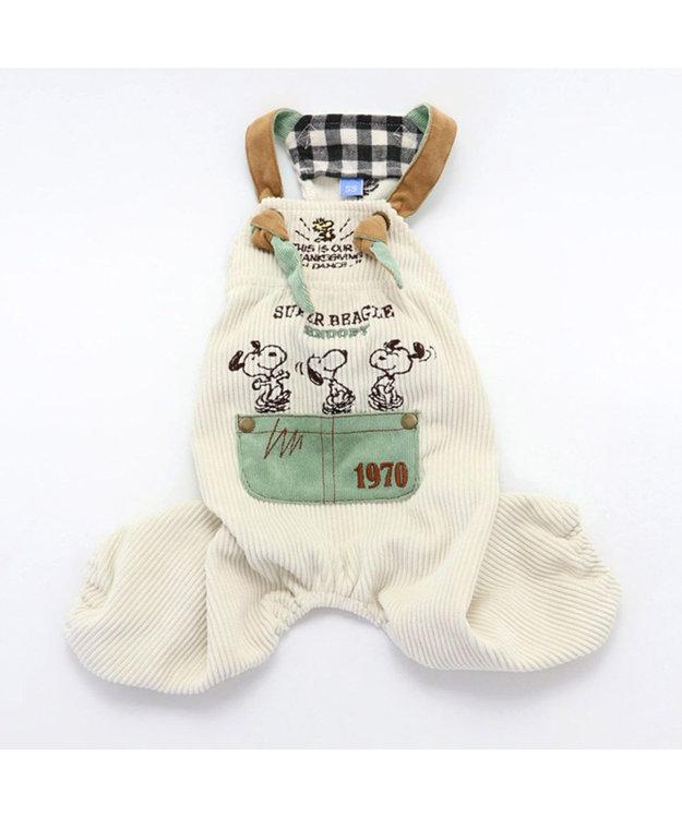 PET PARADISE スヌーピー コーデュロイオーバーオール 〔超小型・小型犬〕