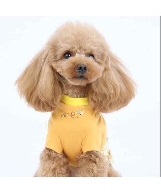 PET PARADISE ディズニーくまのプーさん ポップ総柄 Tシャツ〔超小型・小型犬〕 オレンジ