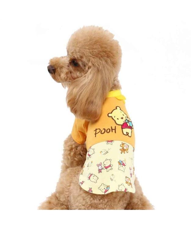 PET PARADISE ディズニーくまのプーさん ポップ総柄 Tシャツ〔超小型・小型犬〕