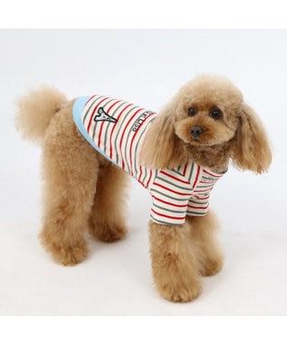 PET PARADISE リサとガスパール ボートネック トレーナー〔中型犬〕 白~オフホワイト