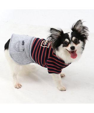 PET PARADISE Lee スウェット上下 スカートつなぎ〔超小型・小型犬〕 ピンク(濃)