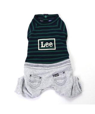 PET PARADISE Lee スウェット上下 パンツつなぎ〔超小型・小型犬〕 緑