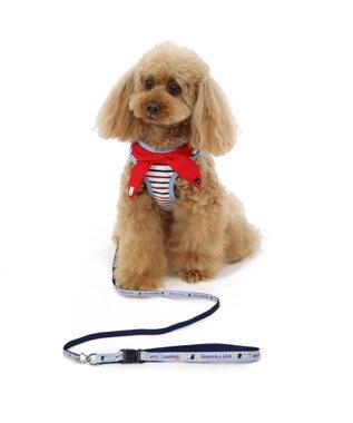 PET PARADISE リサとガスパール ダンガリー ハーネスリード SS 〔小型犬〕 水色