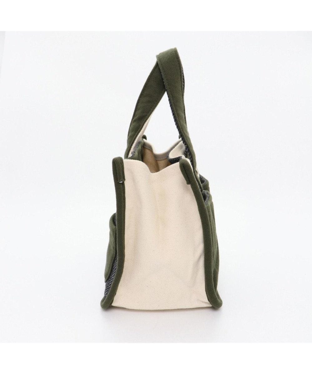 PET PARADISE ペットパラダイス お散歩バッグ(22cm×18cm)黄/カーキ カーキ