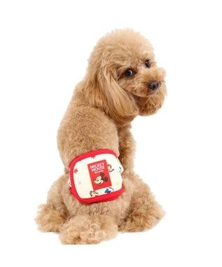 PET PARADISE ディズニーミッキーマウス フレンズ柄 マナーベルト〔超・小型犬〕 赤