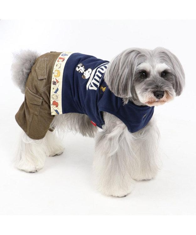 PET PARADISE スヌーピー ピーナッツパンツ上下つなぎ〔超小型・小型犬〕
