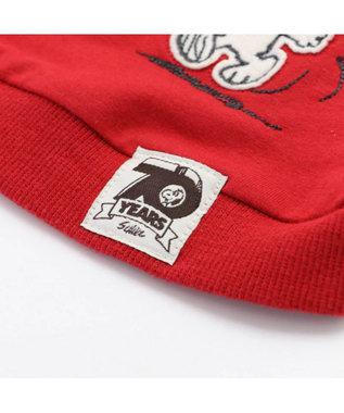 PET PARADISE スヌーピー 70周年 お揃い パーカー赤〔超小型・小型犬〕 赤