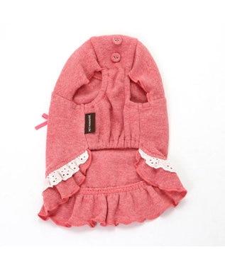 PET PARADISE ペットパラダイス フリルTシャツ桃〔超小型・小型犬〕 ピンク(淡)