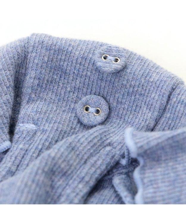 PET PARADISE ペットパラダイス フリルTシャツ青〔超小型・小型犬〕