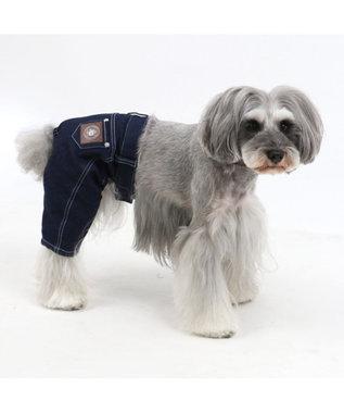 PET PARADISE J.PRESS ストレッチデニムパンツ〔超小型・小型犬〕 紺(ネイビー・インディゴ)