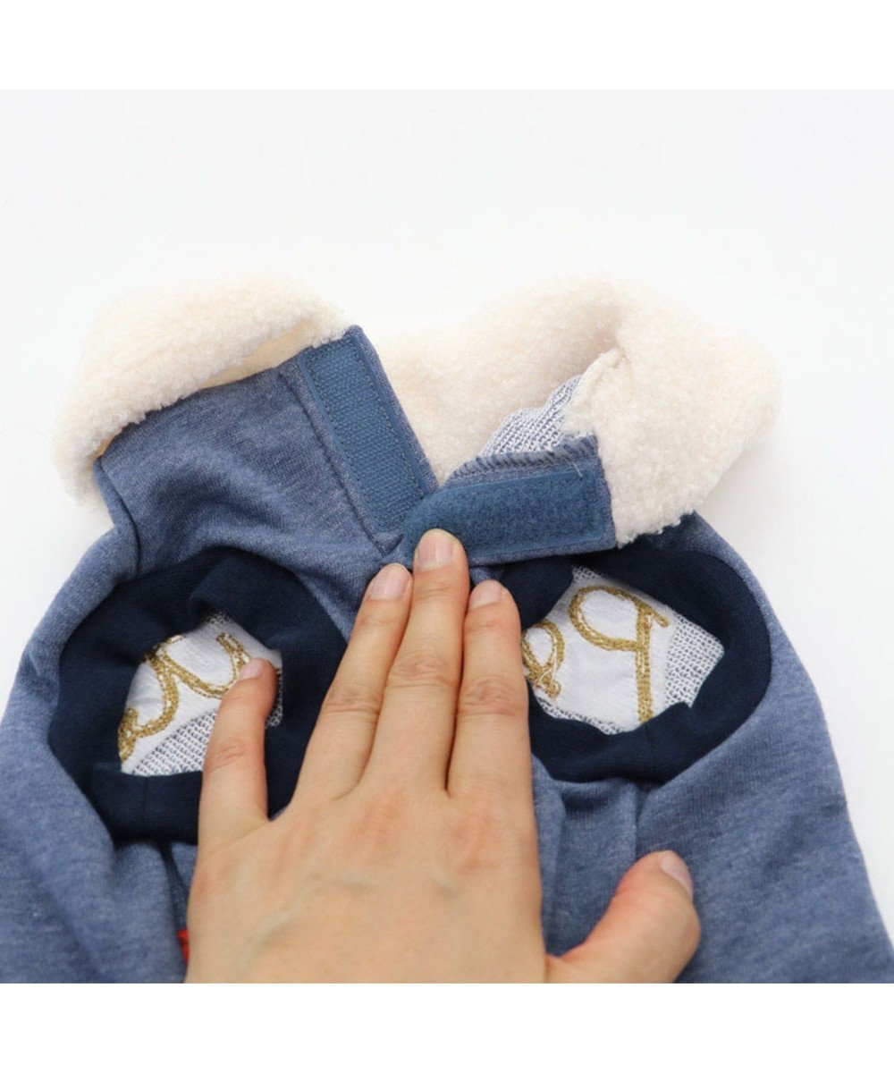 PET PARADISE スヌーピー アニバーサリー トレーナー 紺 〔超小型・小型犬〕 紺(ネイビー・インディゴ)