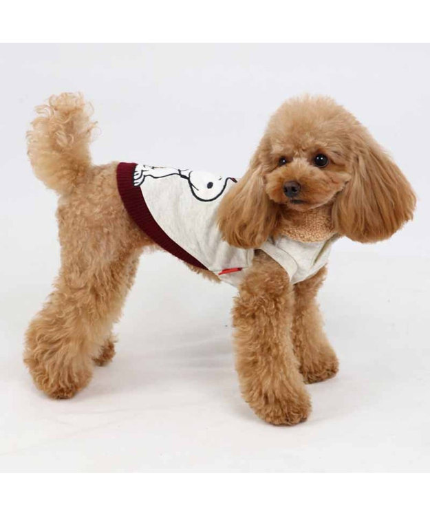 PET PARADISE スヌーピー アニバーサリー トレーナー 白 〔超小型・小型犬〕