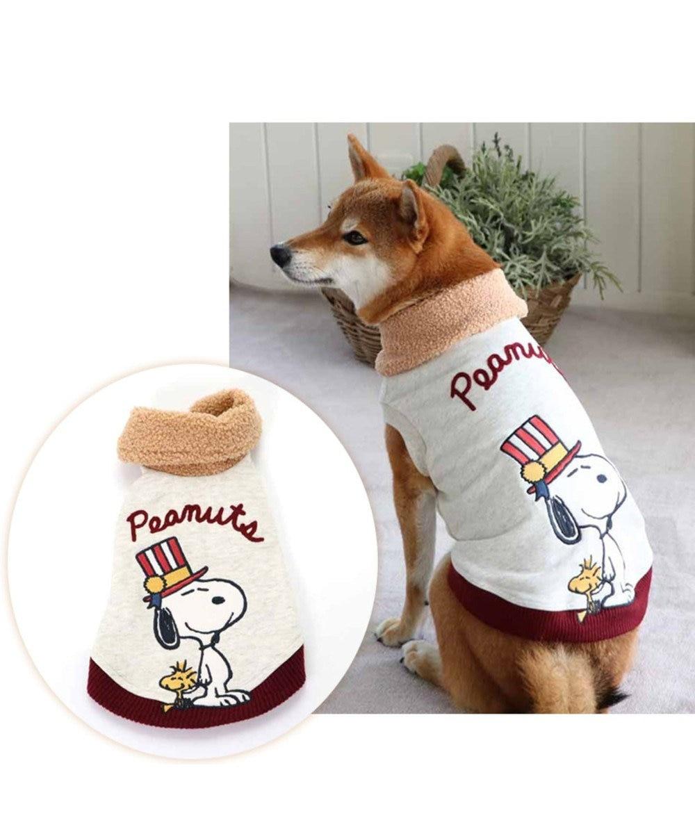 PET PARADISE スヌーピー アニバーサリー トレーナー 白〔中型犬〕 白~オフホワイト