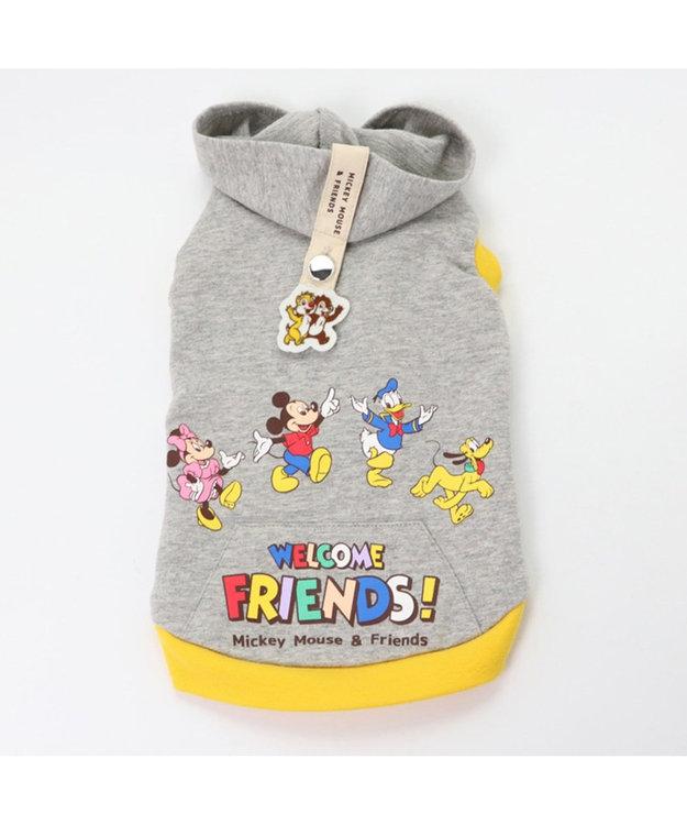 PET PARADISE ディズニー ミッキーマウス フレンズ柄パーカー〔超小型・小型犬〕