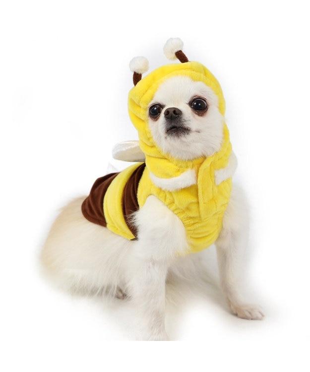 PET PARADISE ペットパラダイス 蜂ふわパーカー 〔超小型・小型犬〕