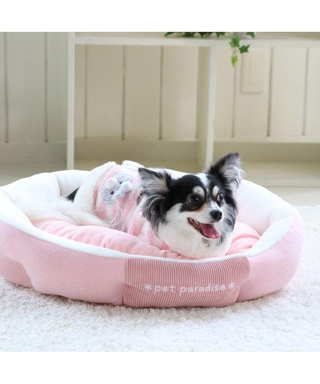 PET PARADISE ペットパラダイス うさぎ背開ベスト〔超小型・小型犬〕 ピンク(淡)