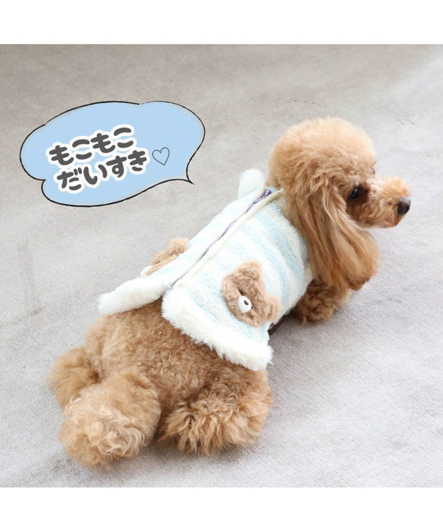 PET PARADISE ペットパラダイス くま背開ベスト〔超小型・小型犬〕