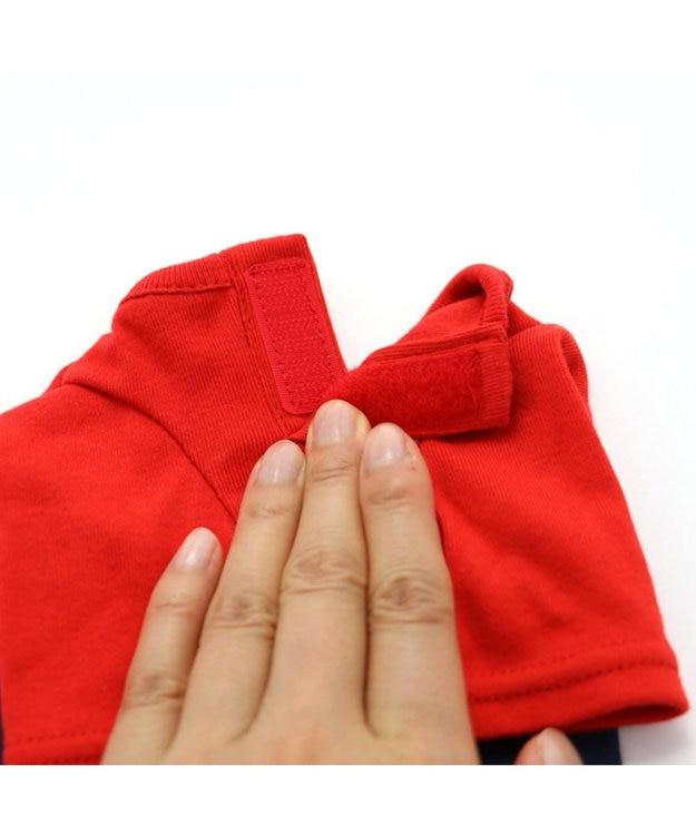 PET PARADISE J.PRESS 配色Tシャツ スカート付き上下〔超小型・小型犬〕
