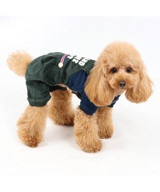 PET PARADISE ペットパラダイス タウンパンツ付き上下 〔超小型・小型犬〕 カーキ
