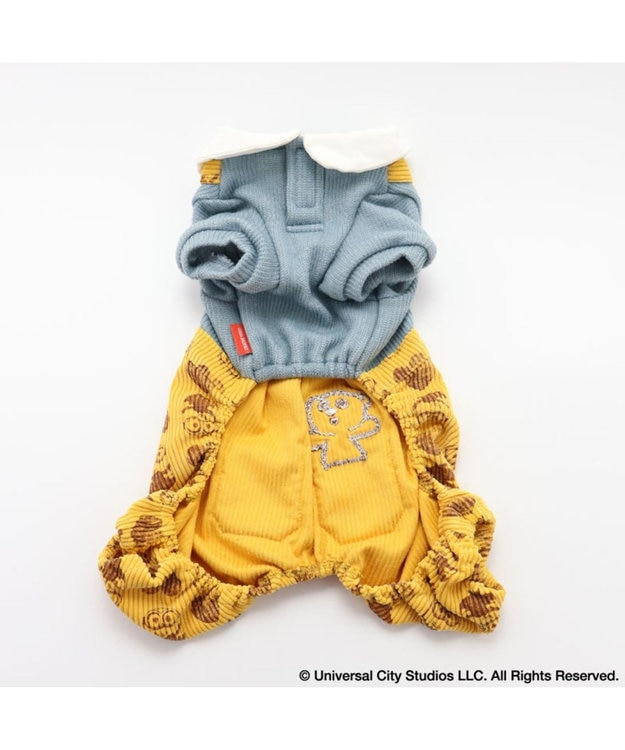 PET PARADISE ミニオン コーデュロイパンツ付き上下 〔超小型・小型犬〕 黄