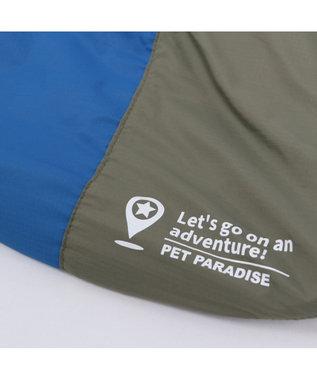 PET PARADISE ペットパラダイス エアスリング カーキ〔超小型・小型犬〕 青