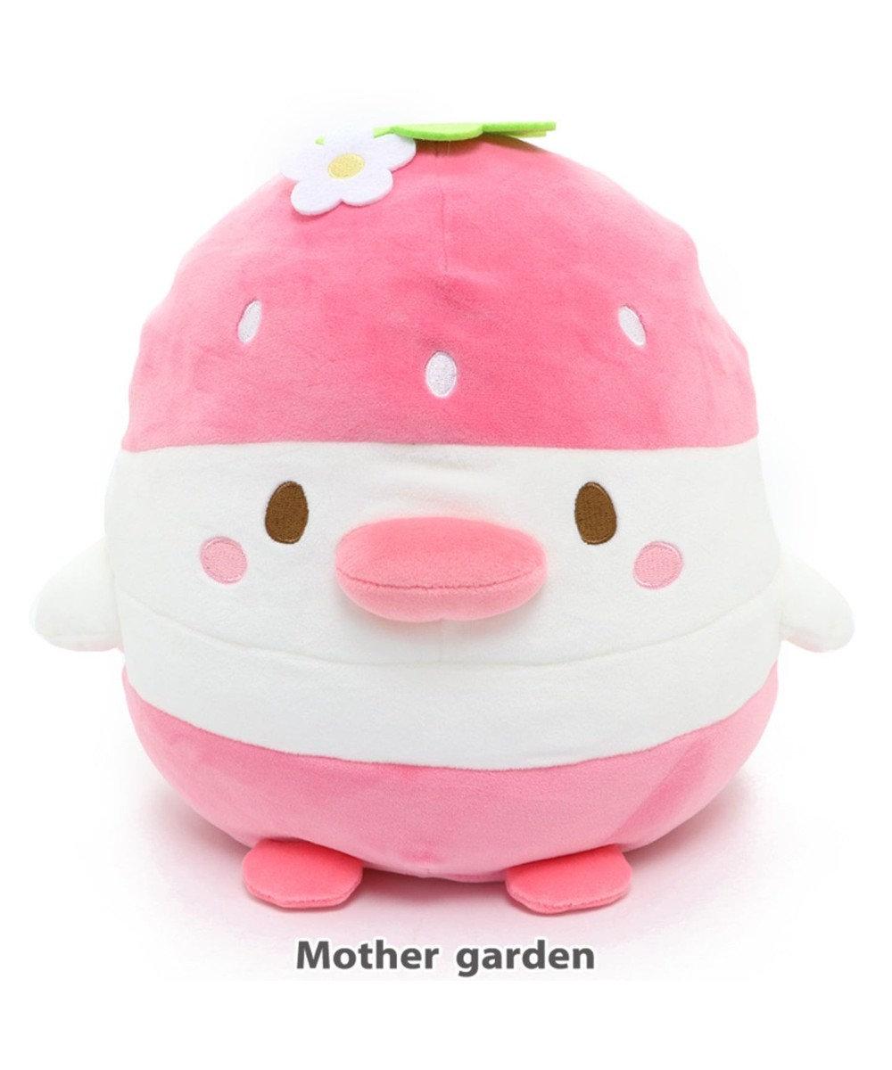 Mother garden こぴよフレンズ フルーツぬいぐるみ 《こまろ イチゴ》 0
