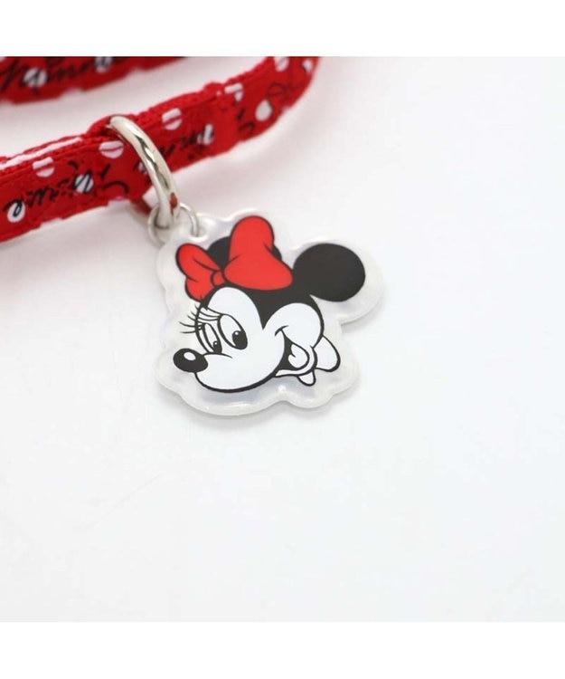 PET PARADISE ディズニーミニーマウス ドット柄リード ペットSS・S〔小型犬〕