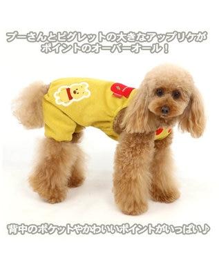 PET PARADISE ディズニーくまのプーさん アップリケオーバーオール〔小型犬〕 オレンジ