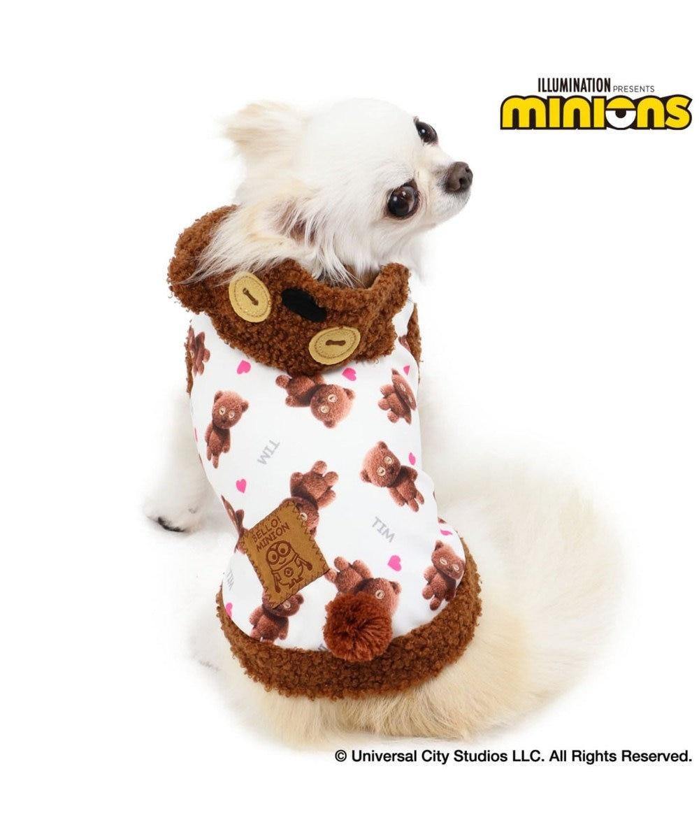 PET PARADISE ミニオン ティムパーカー〔超小型犬・小型犬〕 茶系