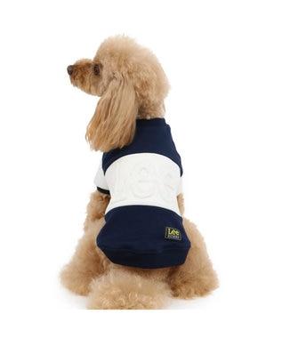 PET PARADISE Lee エンボストレーナー 紺 〔超小型犬・小型犬〕 紺(ネイビー・インディゴ)
