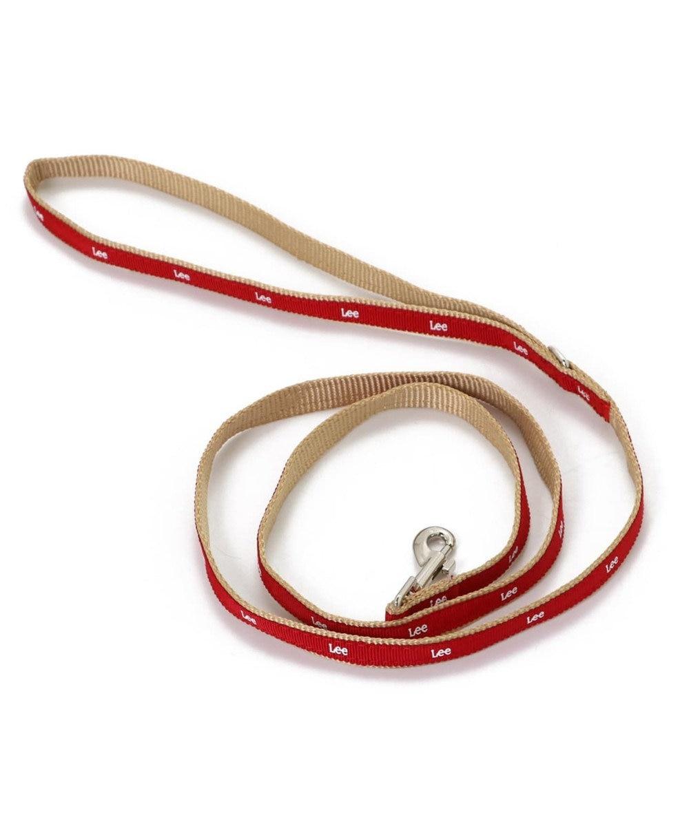 PET PARADISE Lee ロゴ リード ペット3S〔超小型・小型犬〕 赤