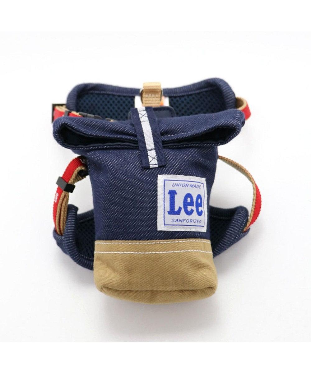 PET PARADISE Lee リュック付 ハーネス ペット3S〔超小型・小型犬〕 紺(ネイビー・インディゴ)