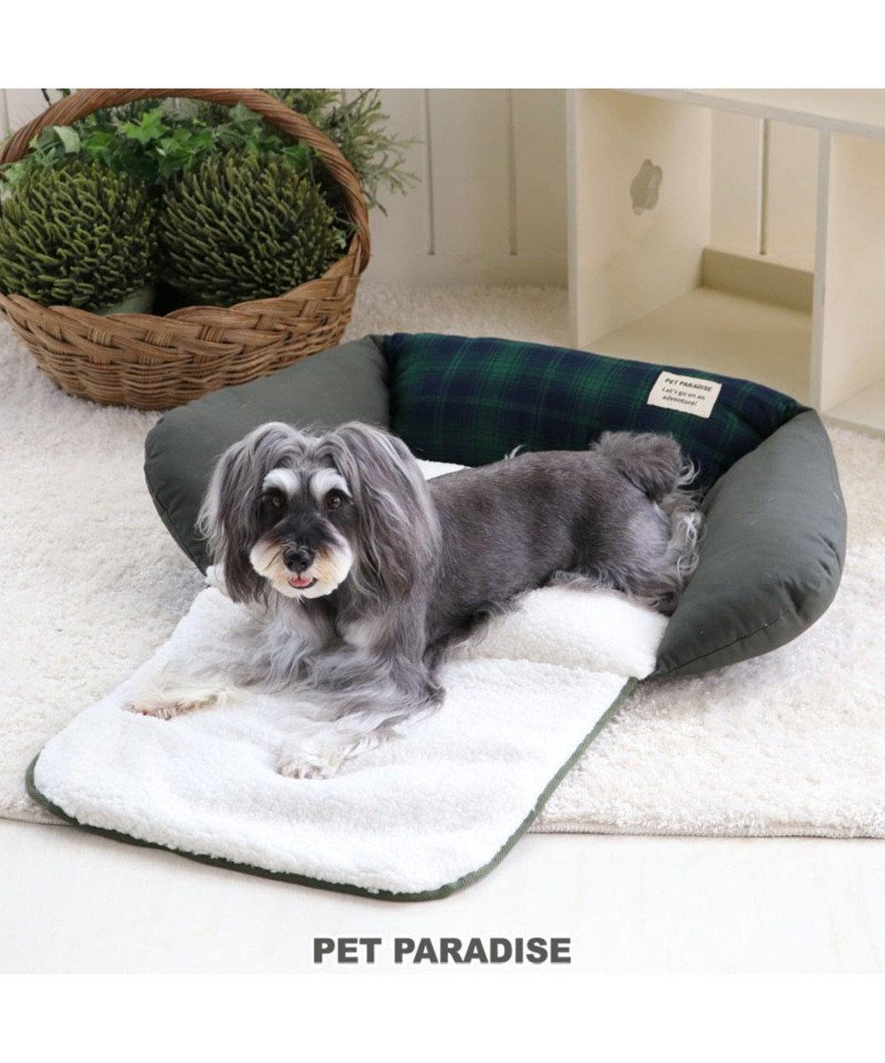 PET PARADISE ペットパラダイス マットカドラーベッド カーキ