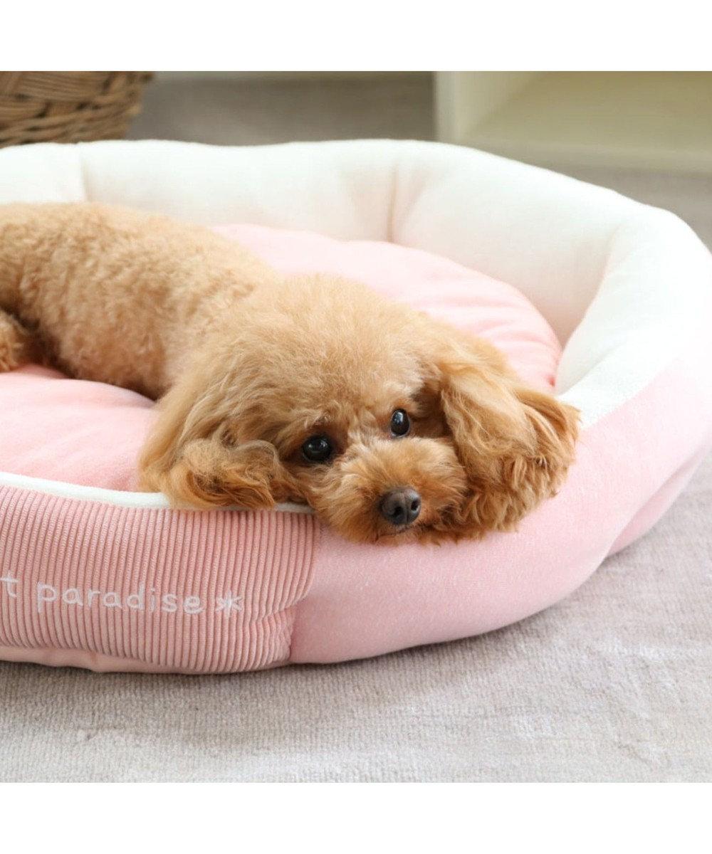 PET PARADISE ペットパラダイス ボンディング カドラー ベッド(55cm) ピンク(淡)