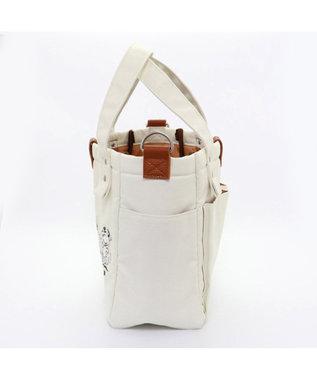 PET PARADISE スヌーピー 70周年 お散歩バッグ (約28cm×約23cm) 白~オフホワイト