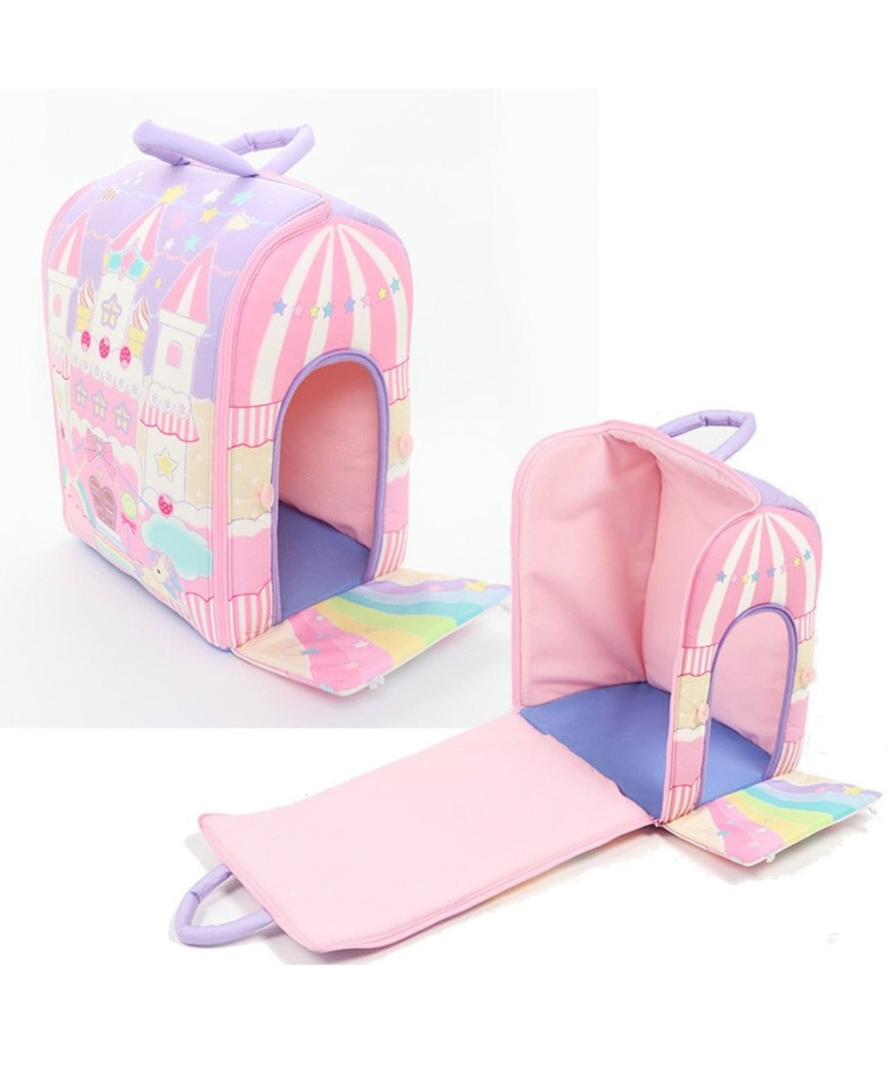Mother garden マザーガーデン ドリームユニコーン 夢のお城 キャッスルハウス ピンク(淡)