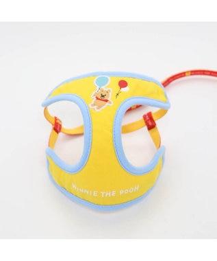 PET PARADISE ディズニーくまのプーさん 風船柄 ハーネスリード S〔小型犬〕 黄