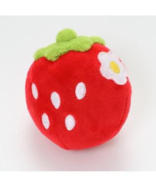 PET PARADISE ペットパラダイス 犬用おもちゃ 苺コロコロトイ(赤) 赤