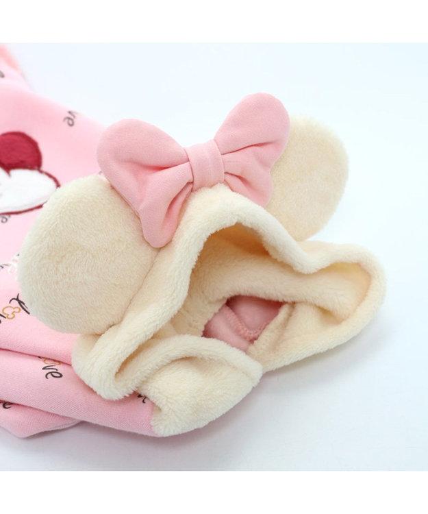 PET PARADISE ディズニーミニーマウス モコモコ パーカー  〔超小型・小型犬〕
