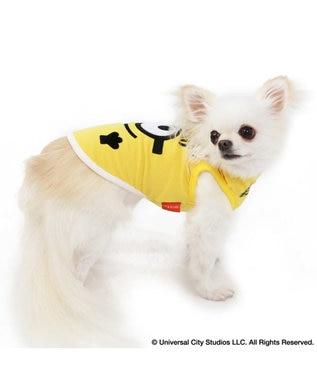 PET PARADISE ミニオン フェイス ペティヒート タンクトップ  〔超・小型犬〕 黄