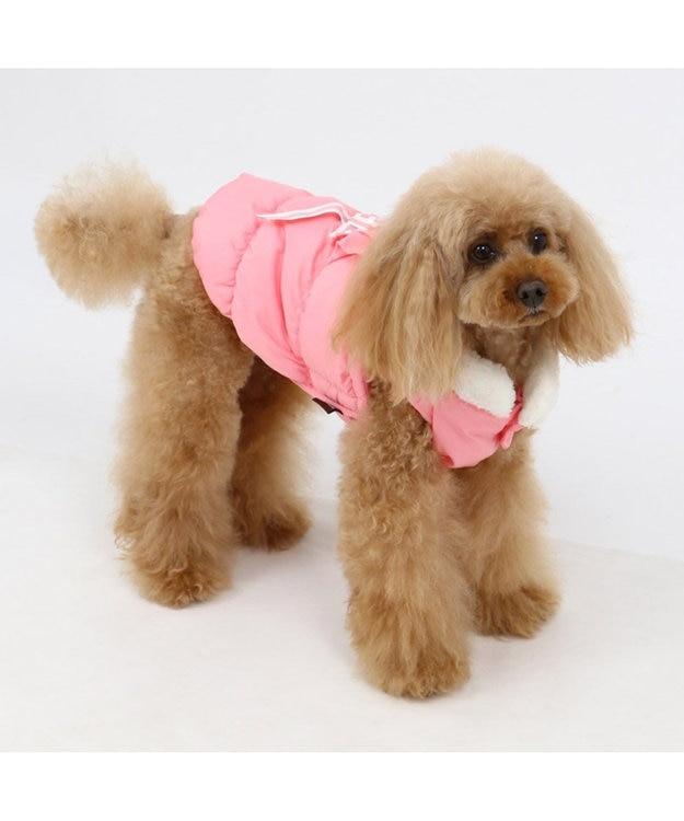 PET PARADISE ペットパラダイス フリル エアベスト 桃〔超小型・小型犬〕