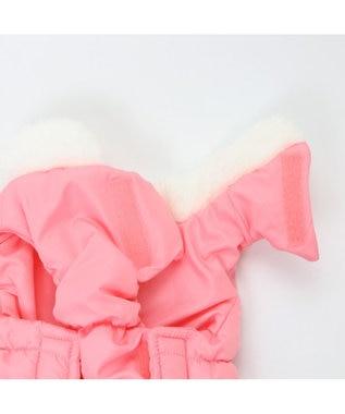 PET PARADISE ペットパラダイス フリル エアベスト 〔中・大型犬〕 ピンク(淡)
