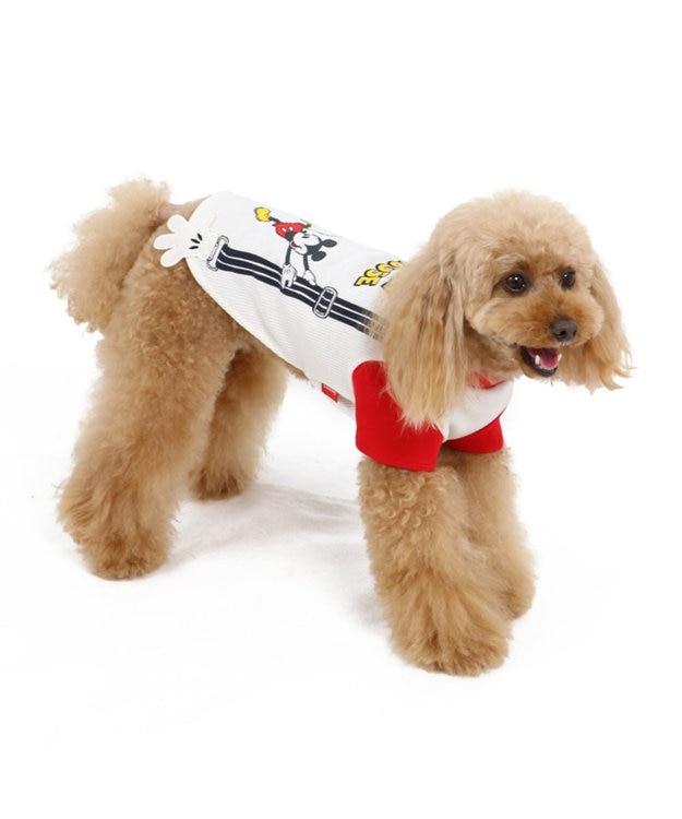 PET PARADISE ミッキーマウス サスペンダーペティヒート Tシャツ〔超・小型犬〕